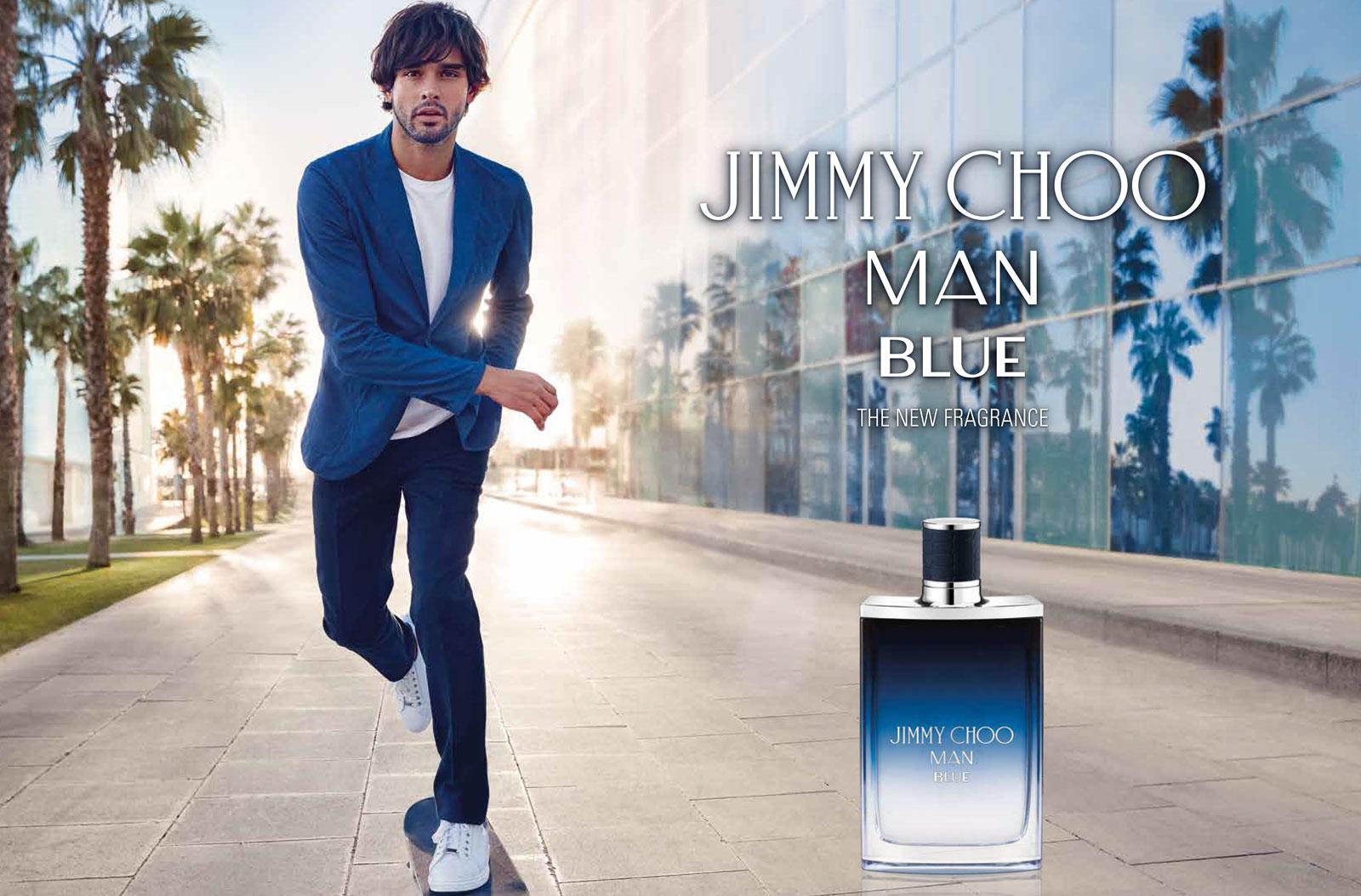 Jimmy Choo, fragrance, perfume, parfüm, man blue, Marlon Teixeira