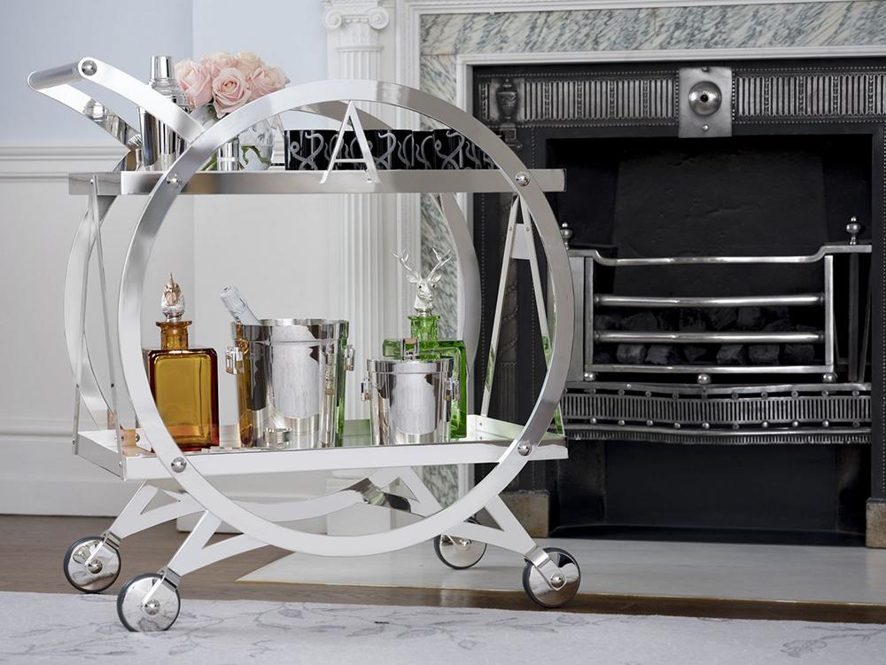 Asprey, Ritz-Carlton, trolley, zsúrkocsi, coctail, koktél