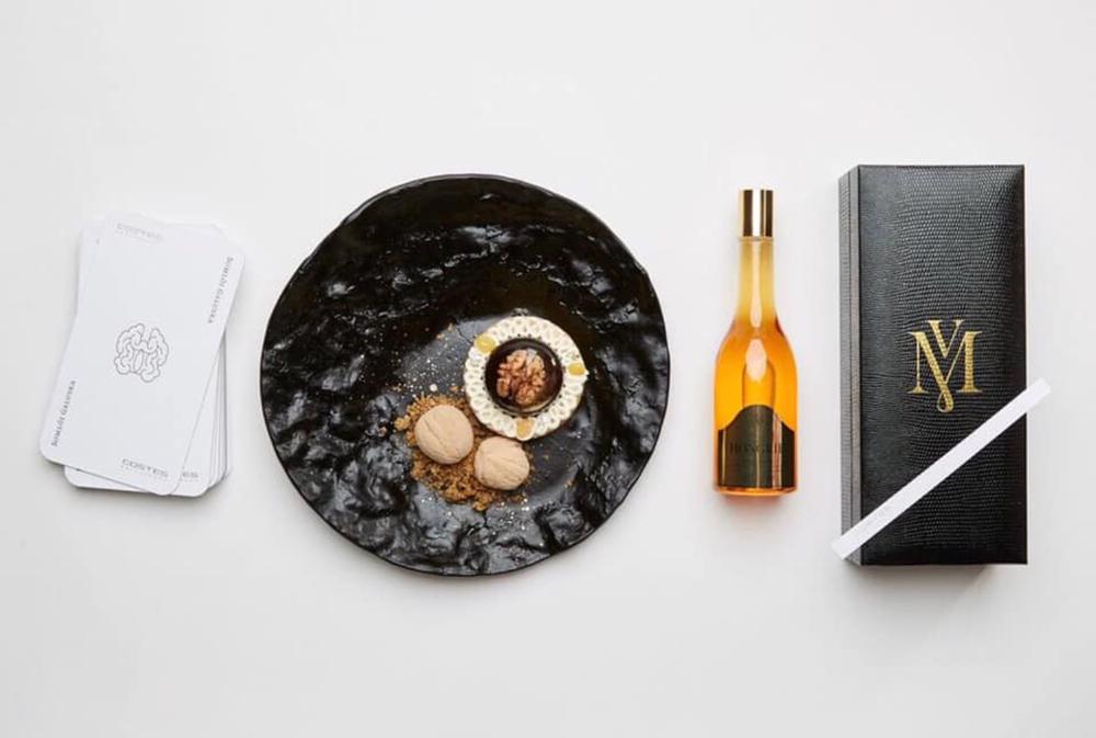Viktoria Minya, Costes, fine dining, fragrance, perfume, Eau de Hongroi, dessert, wine, Budapest