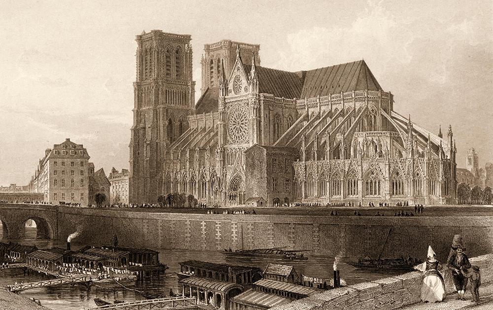 Notre Dame Paris_cathedral