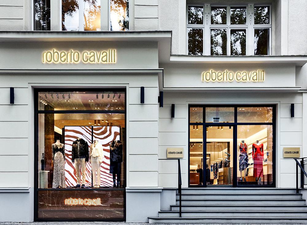 Roberto Cavalli store, üzlet