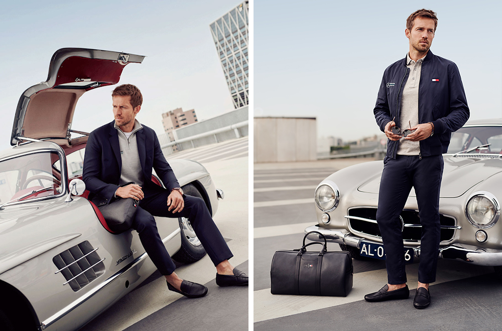 Tommy Hilfiger, Mercedes-Benz, capsule collection, kapszulakollekció