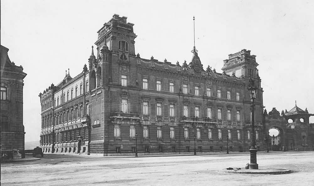 Budapest_József főherceg palotája_palace_palais_archduke_demolished