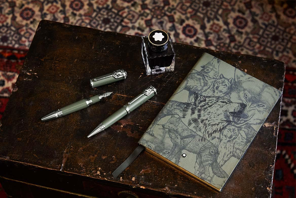 Montblanc_Rudyard Kipling_The Jungle Book_Writers Edition_A dzsungel könyve_pen_toll_limited collection_limitált kollekció
