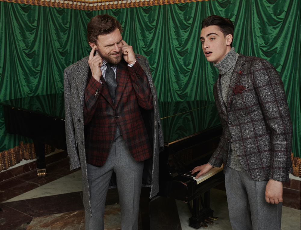 Isaia_2019_fall_winter_collection_male_kollekció_Napoli_naples_nápoly_teatro san carlo