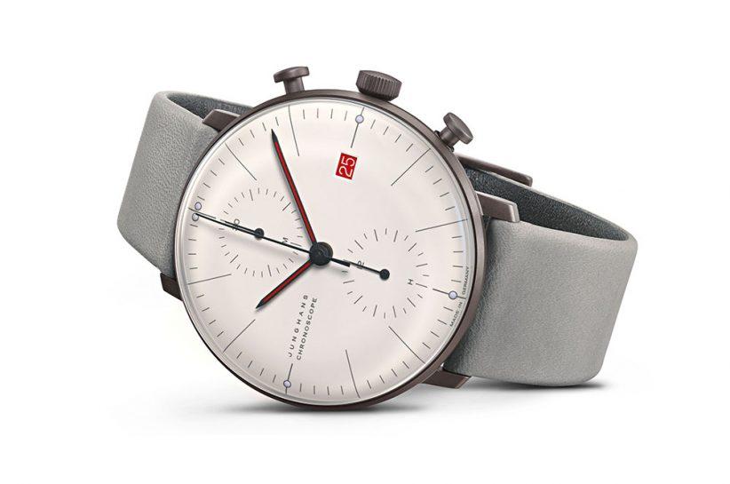 Junghans max bill Chronoscope 100 J.Bauhaus_watch_karóra