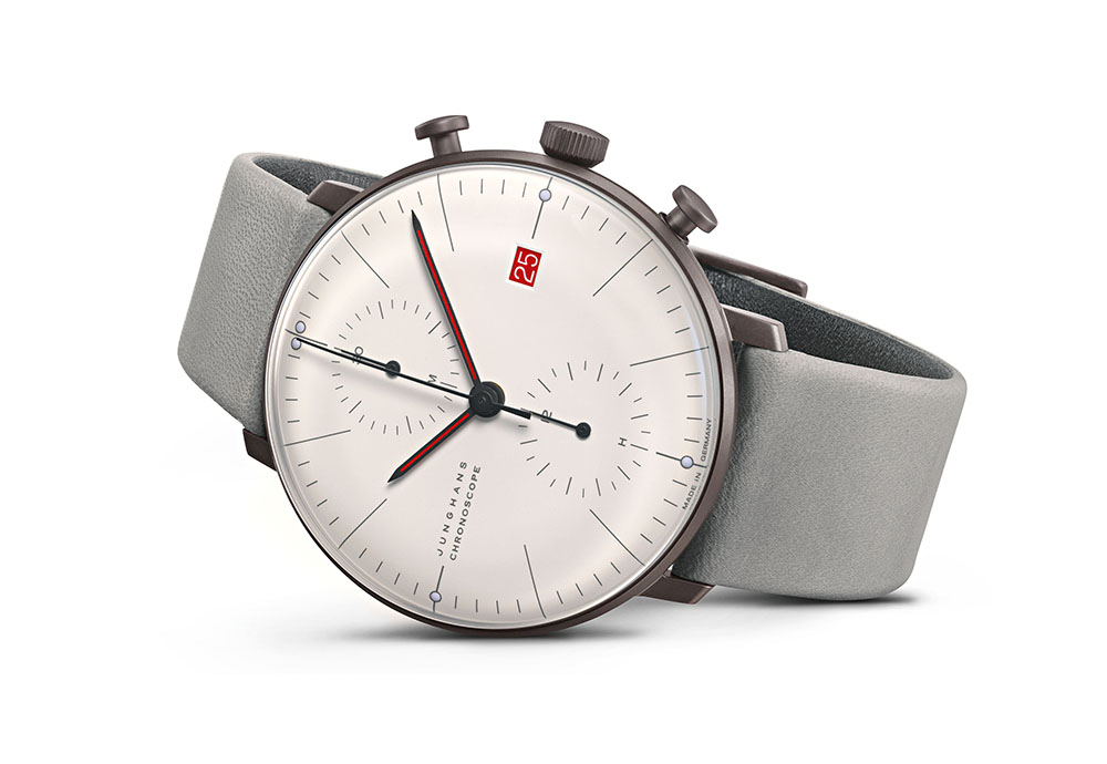 Junghans max bill Chronoscope 100 J.Bauhaus_watch_karóra