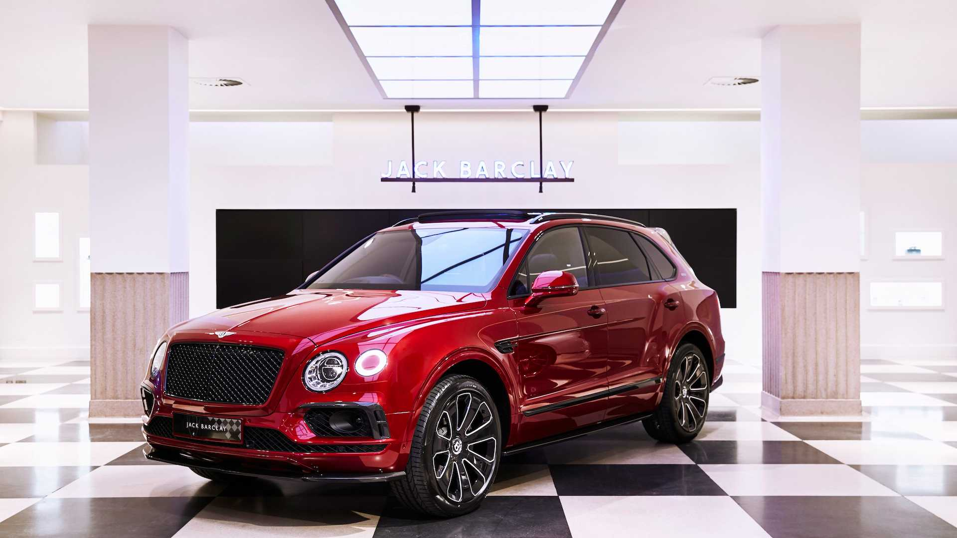 Bentley Bentayga_Huntsman_Savile Row_Jack Barclay_limited special edition