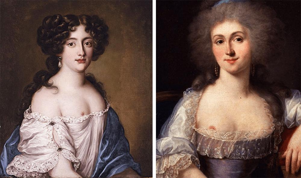 Lamballe Princesse, hercegnő_Hortense Mancini, mistress_portrait_portré