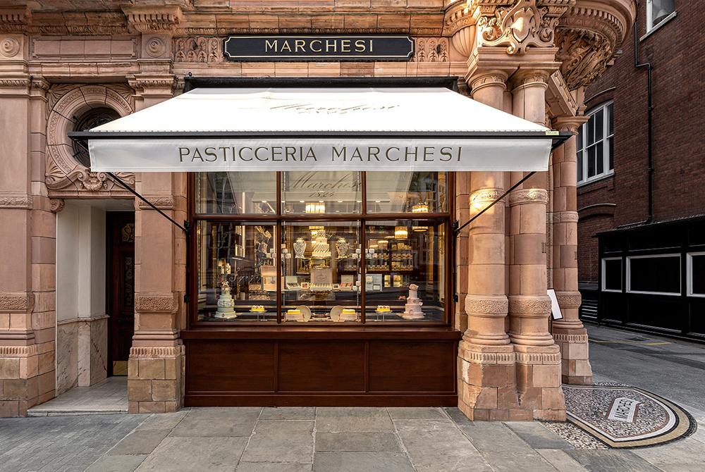 Marchesi_pasticceria_pastry shop_cukrászda_Prada_London_Mayfair_store