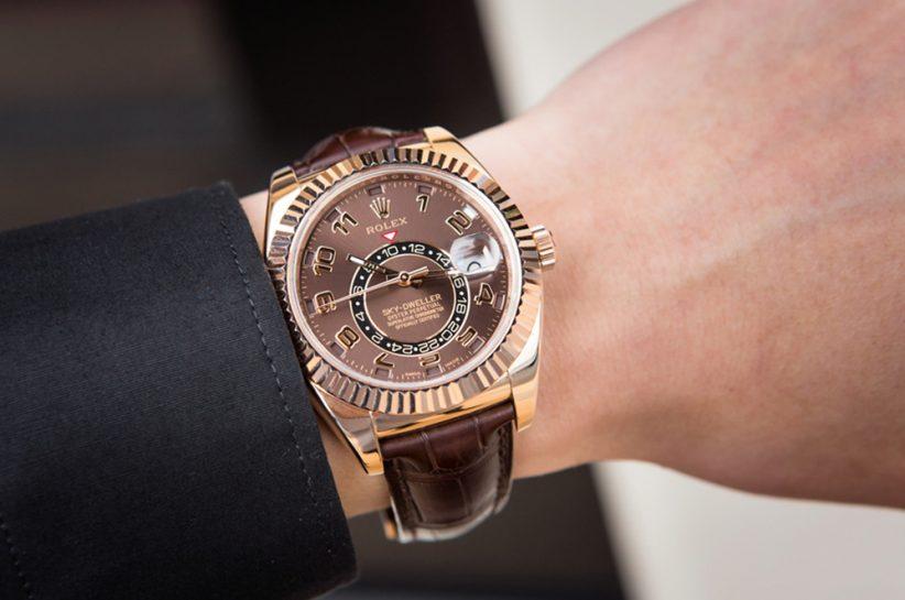 Rolex Sky-Dweller watch_karóra