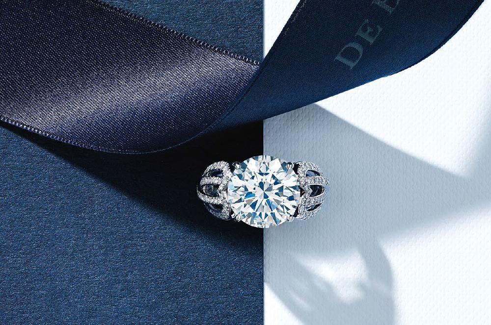 De Beers_diamond_gyémánt_ring_gyűrű