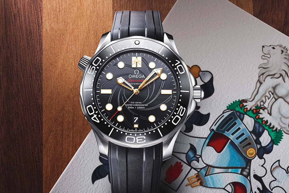 Omega Seamaster Diver 300M On Her Majesty's Secret Service 50th Anniversary_karóra_watch-limited edition_limitált kollekció