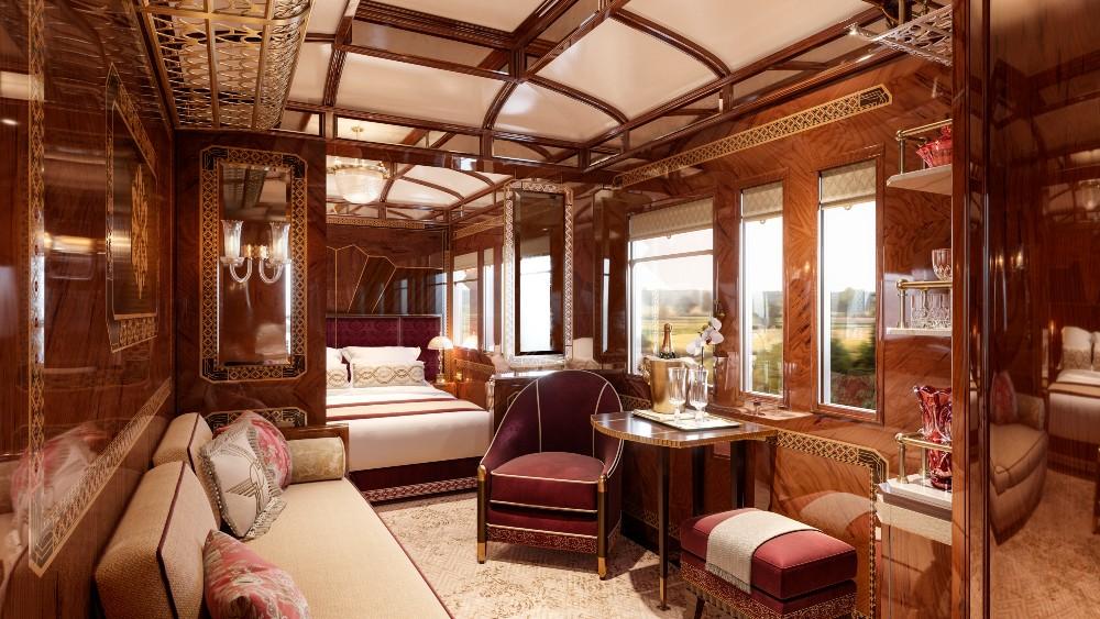 Orient Express, Prague, vonat, vasút, train, luxury, suite, lakosztály
