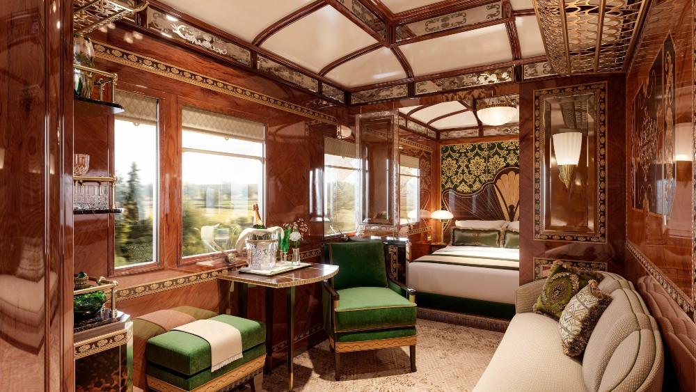 Orient Express,Vienna, vonat, vasút, train, luxury, suite, lakosztály