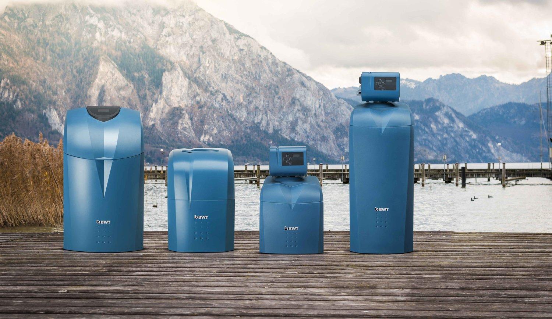 BWT AQA perla Delux vízlágyító család, water softener