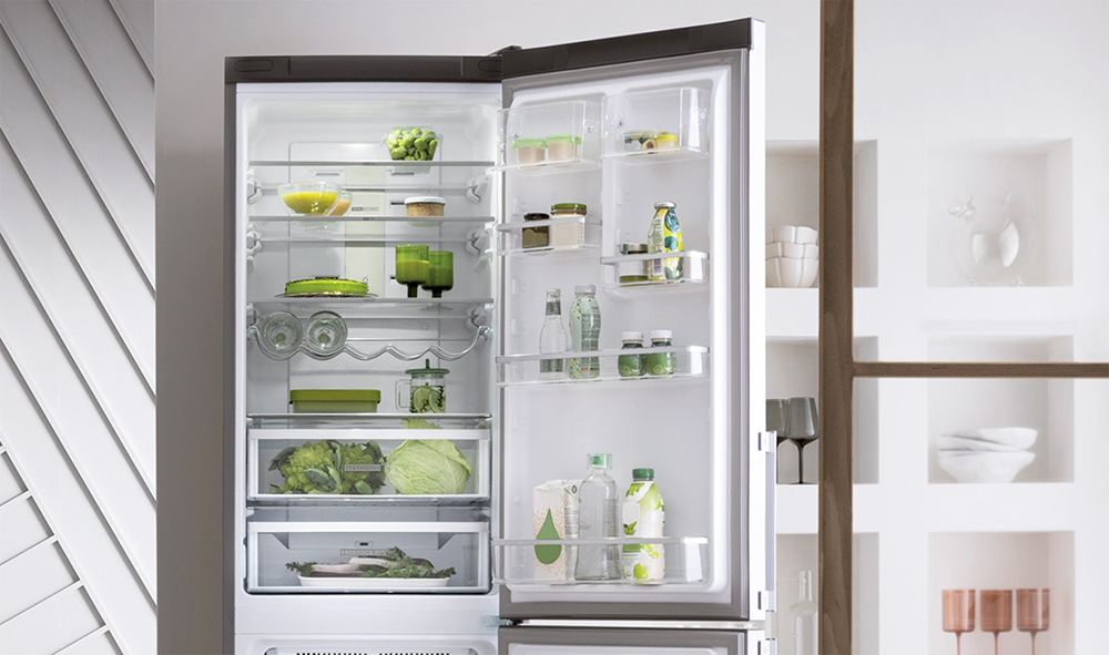 Whirpool W7 Total No Frost, hűtőszekrény, fridge