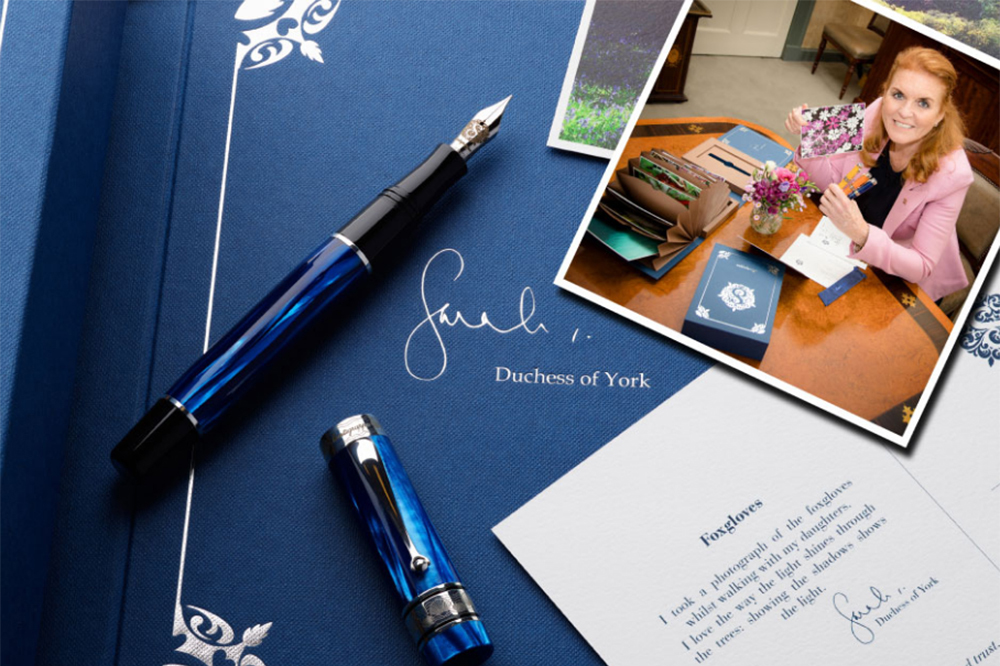 Montegrappa_Fergie_Duchess of York_hercegné_Sarah Ferguson_fountain pen_töltőtoll_limited edition