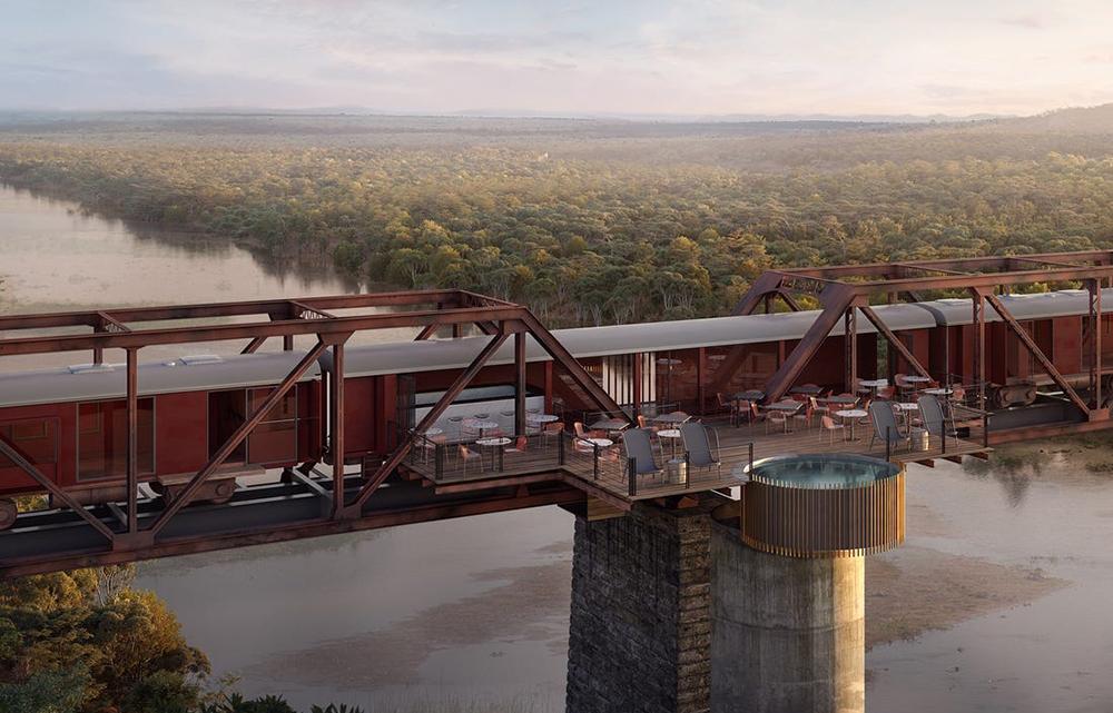 Kruger National Park_Nemzeti_South Africa_Dél Afrika_Shalati Hotel_Sabie_Skukuza Bridge_híd_folyó