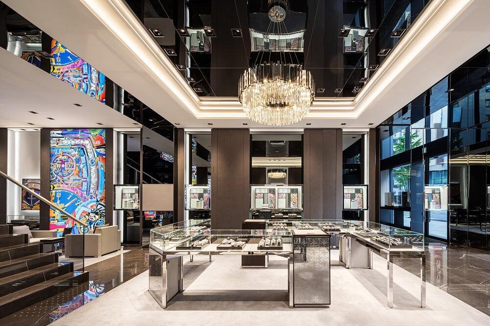 Hublot Tower_Ginza_Japan_Tokyo_Tokió_flagship_store_40 anniversary