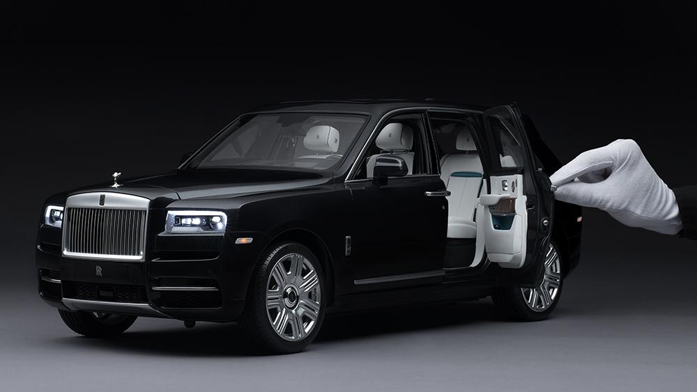 Rolls Royce Cullinan modell car