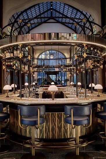 Four Seasons Hotel Budapest Gresham Palace_palota_Múzsa Bar
