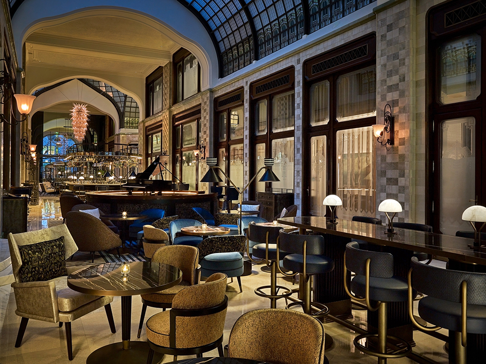 Four Seasons Hotel Budapest Gresham Palace_palota_Múzsa Bar