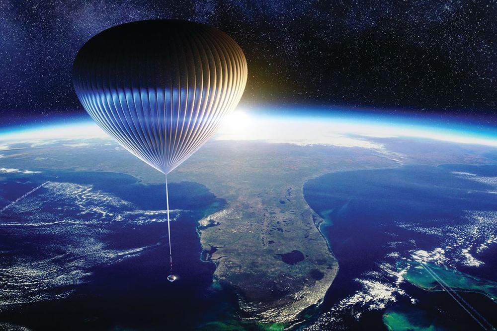 Space Perspective_hőlégballon_űrutazás